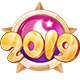 2019跨年徽章